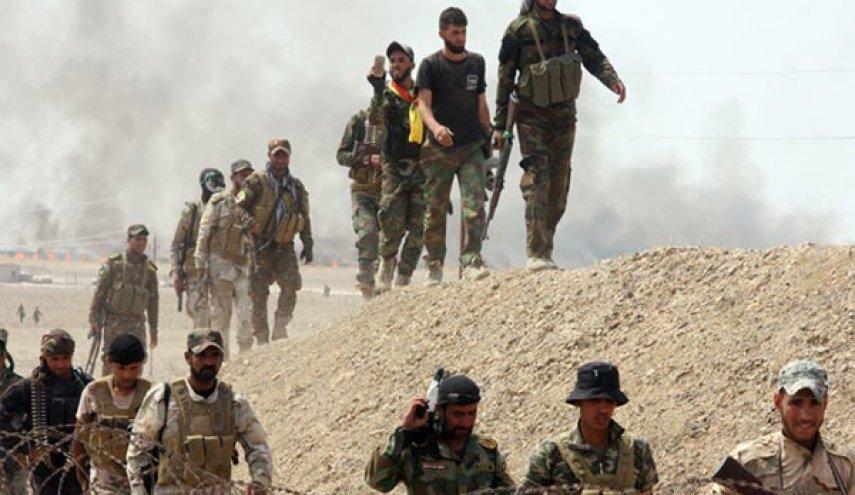 الحشدالشعبی تونل های داعش در دیالی عراق را تخریب کرد